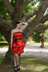 Red Satin 15 by Anariel-Stock