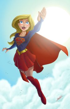 Supergirl by natelovett