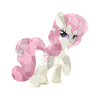 Mighty Heart Crystal Pony by Posey-11