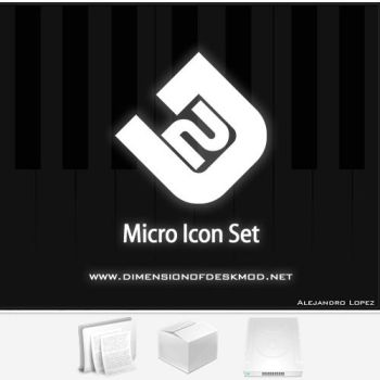 Micro Icon Set by BlueMalboro
