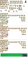 Koopa Bros. Sprite Sheet by shadefalcon