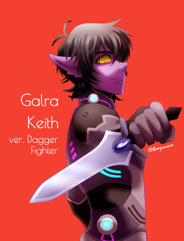 Galra Keith by Buryooooo