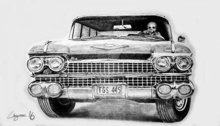 Deaths Cadillac by Darstrom