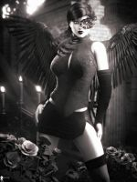 Monochrome: Black Angel 6 by LaMuserie