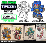 TFcon Toronto 2018 Sketch Preorders by MattMoylan