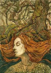 Forest Lady by CoalRye