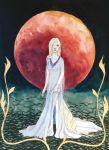 The Moon by AriaDintan