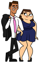 Brody and MacArthur Prom Date by EvaHeartsArt