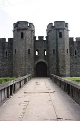 Cardiff Castle 3 by CAStock