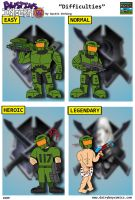 Halo Difficulties by DairyBoyComics