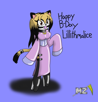 Bday Lillithmalice by metalzaki