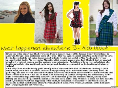 What happened elsewhere 3 -  Alba Nuadh by p-l-richards