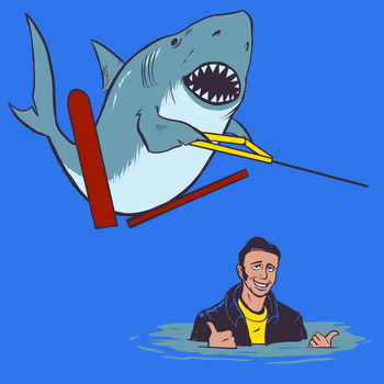 Jumping the Fonz by AmazingTrout