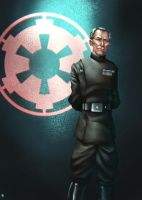Grand Moff Tarkin by cric