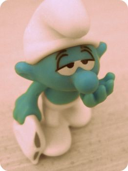 A Smurf by Lilith1995