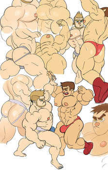 Muscle Clash - PART 2 by musclust
