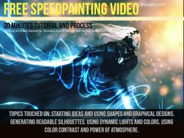 Free Scifi Speed Painting Tutorial by DreadJim