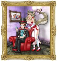 Lost Pause - Classy Noble and Lily fancy fan art by stimpy141