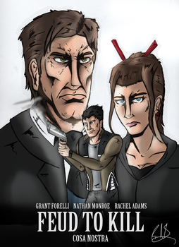 Feud to Kill INKED Cover - Normal Variant by ThePsychoticEnigma
