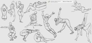 more gesture practice 5mins each by rattree