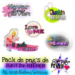 text png Justin Bieber by anabbieber