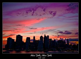 New York, New York by Frall
