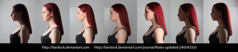Face lighting reference 12 by faestock