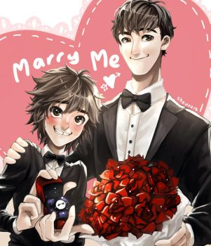 Marry me? by shounore