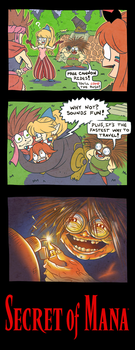 SECRET OF MANA THE HORROR MOVIE by DavyWagnarok