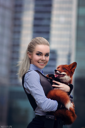 Zootopia - Judy and Nick by MilliganVick