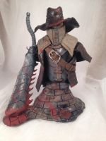 Bloodborne Old Hunter with Beast Cutter Bust by JHarvey91