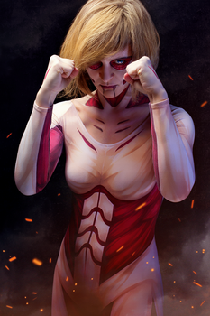 Female Titan by richie-on-a-mission