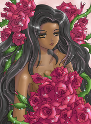 Collab : Roses by Wingsie
