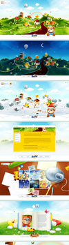 BARNI world - flash web design by gatisatmixlv