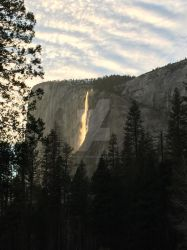 Horse Tail Light and Lines in the Sky by Yosemite-Stories