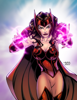 Scarlet Witch by AlonsoEspinoza