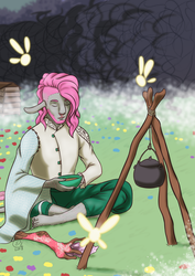 Critical Role: Meditation, faeries, and tea by LizDoodlez