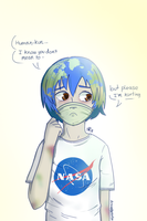 Earth-chan by drawnbysofie