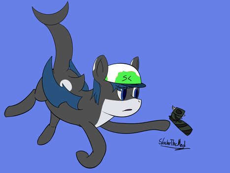 Orca Bat Pon3 Finds Something Familiar by CompleteDarkness23