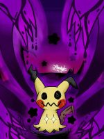 Mimikyu - Never-ending Nightmare by Plucky-Nova