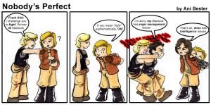 BSG Comic 1: Nobody's Perfect by GalacticDustBunnies