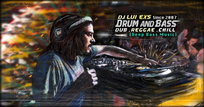 DJ Lui Exs Art design by luiexs