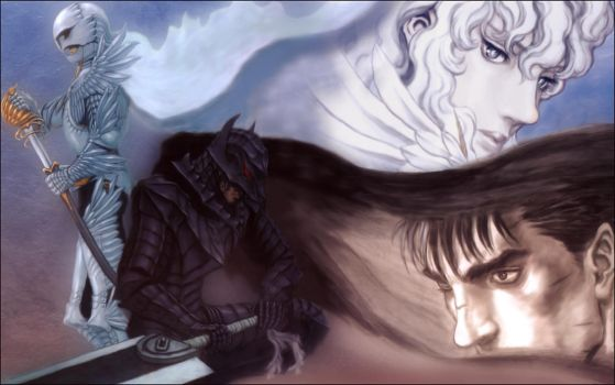 Guts and Griffith by En-Taiho