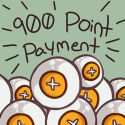 [Pay With Points Here] 900 Point Payment by heartof-theforest