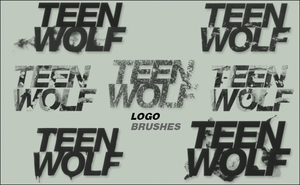 Teen Wolf Logo Brushes by Cammerel
