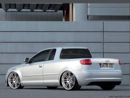 Audi A3 Pick-Up by fabiolima-designer