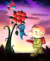 berry picking by Rylitah