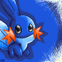 Mudkip by spiffychicken