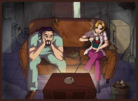 Coffee and TV by Cassandra-Project
