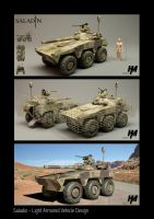 Saladin- Light Armored Vehicle by Mr-Evin